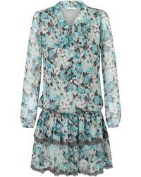 Ju Lovi Miami Silk Dress Blue