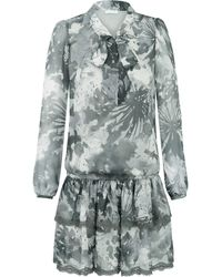 Ju Lovi Miami Silk Dress Gray