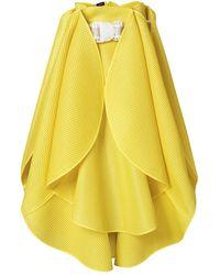 Judy Wu - Structured Petal Skirt - Lyst