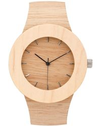 Analog Watch Co. - Silverheart & Maple With Hour Markings - Lyst