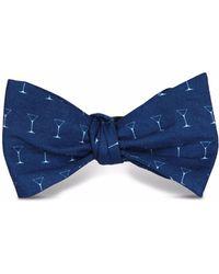 Tom Astin - Shaken Not Stirred Bow Tie - Lyst