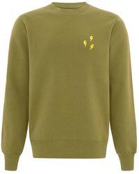 blonde gone rogue Flash Organic Sweatshirt In Green
