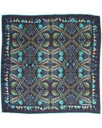 Medley Creations - Fleeting Hearts Silk Neckerchief - Lyst