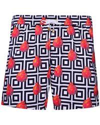 KLOTERS MILANO - Pomegranates Swim Shorts - Lyst