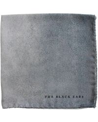 The Black Ears - The Grey Stone Pocket Square - Lyst
