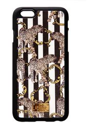 Jessica Russell Flint - Iphone 6 Case Leather Coated Striped Leopard - Lyst