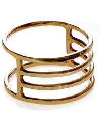KIND - Gold Eclipse Ring - Lyst