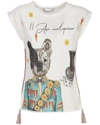 The Extreme Collection Apolo Dog T-shirt - White