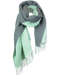 UnPaired - The Cozylab Oversized Cashmere Blend Scarf In Moonlight Jade - Lyst