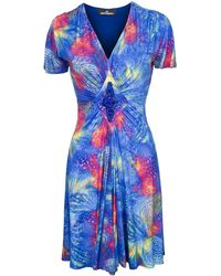 Jennifer Rothwell Diamond Dress - Blue