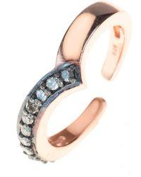 LÁTELITA London Diamond Midi Ring - Multicolour