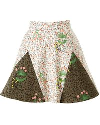 Supersweet x Moumi - Never-wake-up Berry Rhonda Skirt In White - Lyst