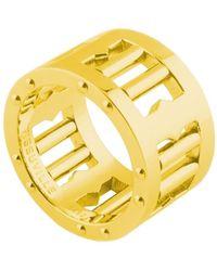 Tissuville Segra Ring Gold Matte - Metallic