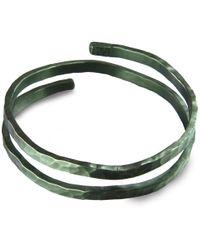 Jan D - Black Round Bracelet - Lyst