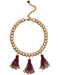 Nocturne - Marie Fringe Necklace - Lyst