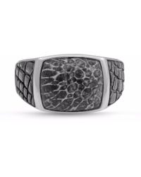 LMJ - Fossil Agate Stone Ring - Lyst