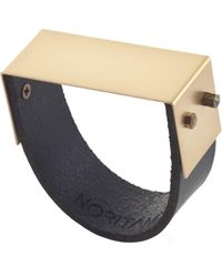 Noritamy - Medium Leather Bracelet - Lyst