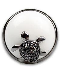 Bellus Domina - Adjustable Turtle Cocktail Ring - Lyst