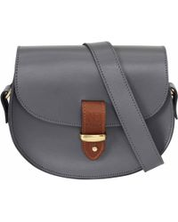 N'damus London - Victoria Grey Cross Body Bag - Lyst
