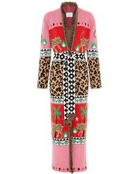Hayley Menzies - Leopardess Duster Red & Pink - Lyst