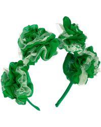 Vjera Vilicnik - Carnation Headband Green - Lyst