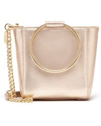 Thacker NYC - Le Bucket Mini In Vintage Gold - Lyst
