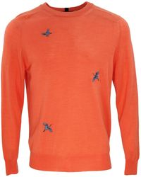 lords of harlech Clive Crew Coral - Orange