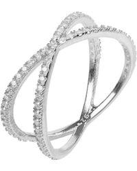 LÁTELITA London Sparkling Cosmos Ring Sterling Silver - Metallic