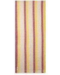 Burrows and Hare Cashmere & Merino Wool Scarf - Multicolour