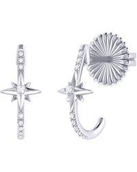 LMJ Starry Night Earrings In Sterling Silver - Metallic