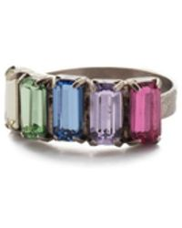 Sorrelli Arden Band Ring - Multicolor
