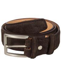40 Colori - Dark Brown Trento Leather Belt - Lyst