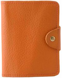 N'damus London - Luxury Italian Leather Orange Passport Cover - Lyst