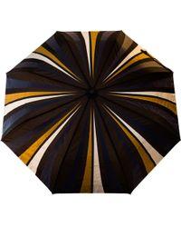 Raindance Umbrellas Cityslick Navy & Gold - Blue