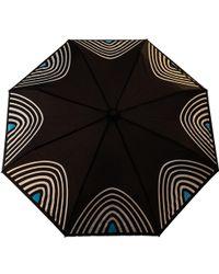 Raindance Umbrellas - Starlight Turquoise & Silver - Lyst