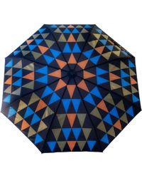 Raindance Umbrellas Pyramid Orange & Gold - Blue