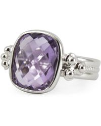 Vintouch Italy - Diana Amethyst Ring - Lyst
