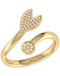 LMJ Pac-man Chase Ring In 14 Kt Yellow Gold Vermeil On Sterling Silver - Metallic