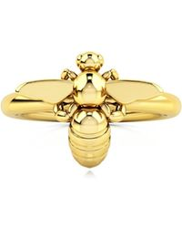 1986 Bee 93°ready To Fly Ring Gold - Metallic