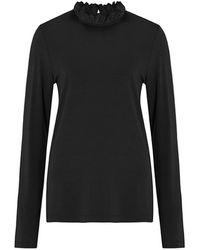 Baukjen Agatha Organic Cotton Top - Black