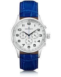 Kennett Watches - Savro Silver Royal Blue Modern - Lyst
