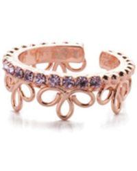 Sorrelli Prunella Band Ring - Pink
