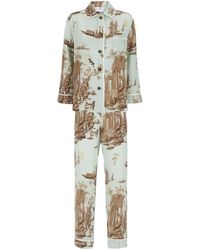 Klements Tabatha Pyjama Set - Green