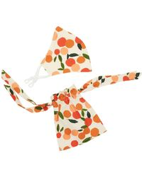 Emily and Fin Contour Mask With Gift Bag Mini Summer Oranges