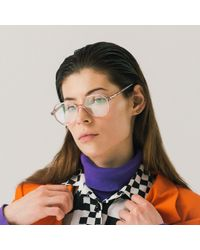 Rezin Khloris Hexagonal Optical Glasses - Multicolour