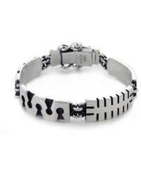 Jan D - Oxidized Bracelet - Lyst