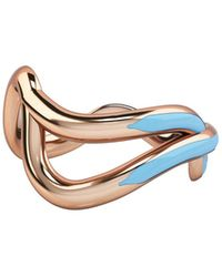 1986 - Wiggle Wiggle Thread Ring Baby Blue & Rose - Lyst