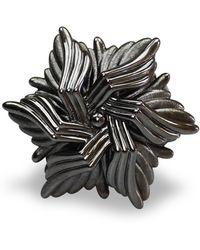 Bellus Domina - Geometric Sea Flower Ring - Lyst