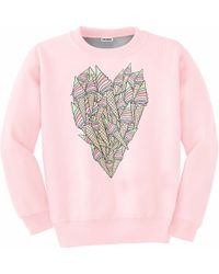 Aloha From Deer - Ice-cream Heart Sweater - Lyst