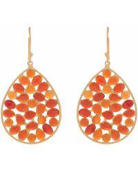 Carousel Jewels - Red Onyx Earrings - Lyst
